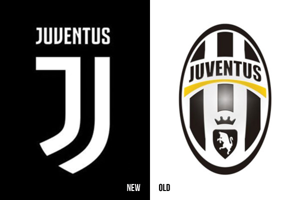 Look At What Juventus Did They Rebranded With A Brazen New Look Created By Interbrand The Logo Manages To Keep The Shape Of A Badge While Manipulating The